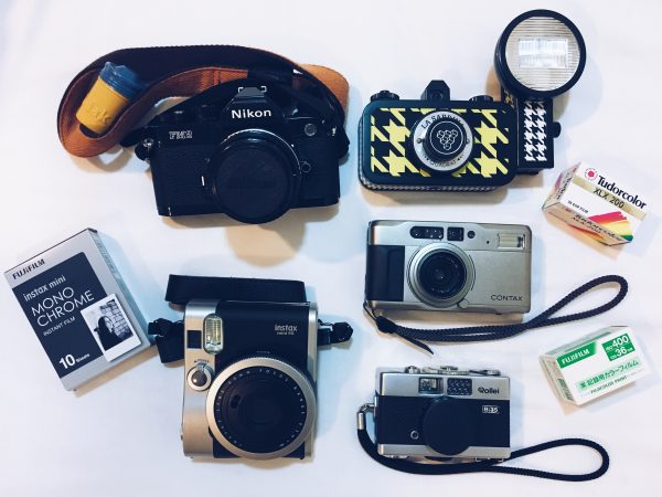 Analogue film cameras