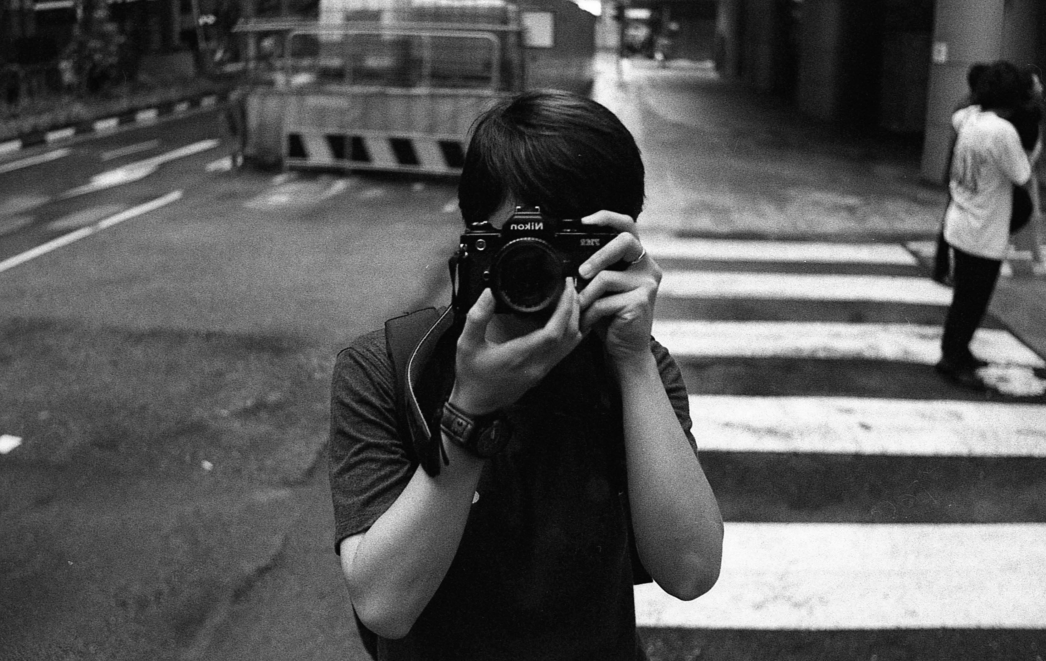 Ilford HP5Plus pushed to 1600. Yellow Filter. Self-develop with Kodak professional Tmax Dev